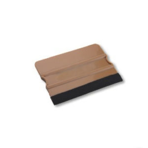 AM-70F Hard Card Squeegee With Felt Edge