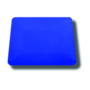 AMG 086BLU Blue Hard Card Squeegee
