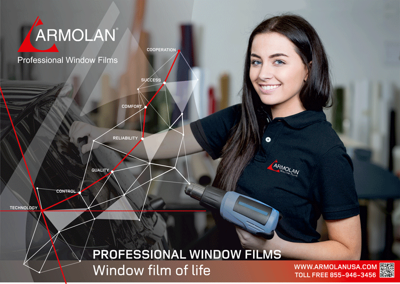 Window films roll